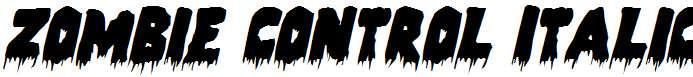 Zombie-Control-Italic