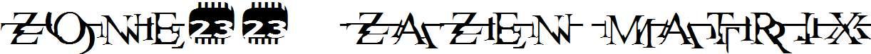Zone23_zazen-matrix