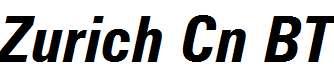 Zurich-Bold-Condensed-Italic-BT