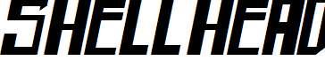 shellhead-Bold-Italic