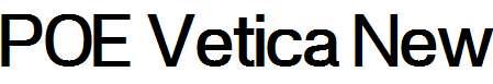 POE-Vetica-New-Medium