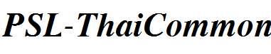 PSL-ThaiCommon-Bold-Italic-1-