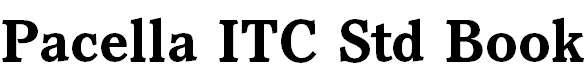 Pacella ITC Std Bold