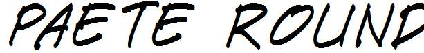 Paete-Round-Italic