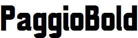PaggioBold