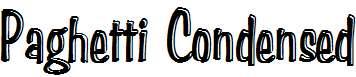 Paghetti-Condensed