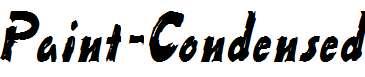 Paint-Condensed-Italic