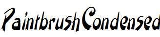PaintbrushCondensed-Italic