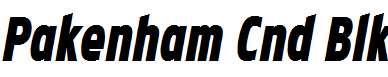 Pakenham-Cnd-Blk-Italic