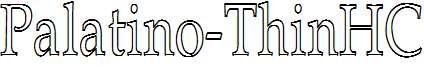 Palatino-ThinHC
