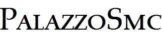 PalazzoSmc-Regular
