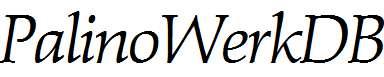 PalinoWerkDB-Italic