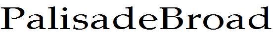 PalisadeBroad-Regular