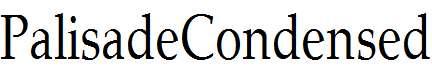 PalisadeCondensed-Regular