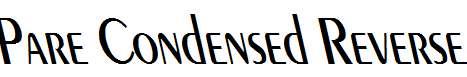 Pare-Condensed-Reverse-Italic