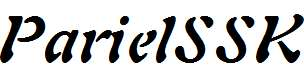 ParielSSK-Bold-Italic