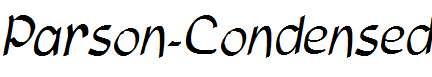 Parson-Condensed-Italic