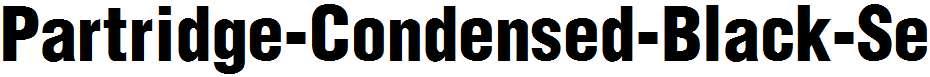 Partridge-Condensed-Black-Se