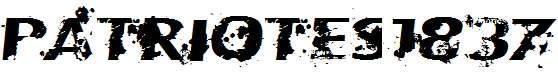 Patriotes1837-Regular