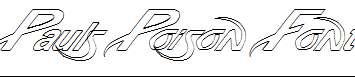 Pauls-Poison-Font-Italic