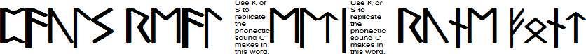 Pauls-Real-Celtic-Rune-Font