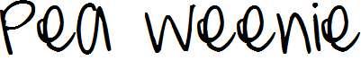 Pea-Weenie