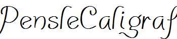 PensleCaligraf-Plain