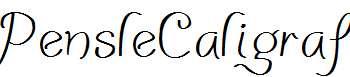 PensleCaligraf-Regular