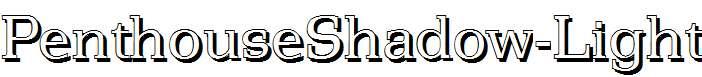PenthouseShadow-Light-Regular
