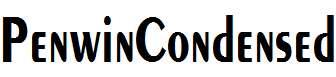 PenwinCondensed-Bold