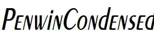 PenwinCondensed-Oblique