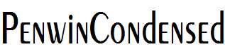 PenwinCondensed
