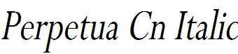 Perpetua-Cn-Italic