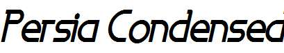 Persia-Condensed-Bold-Italic