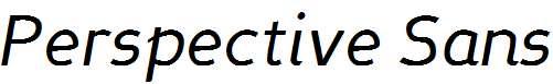 Perspective-Sans-Italic