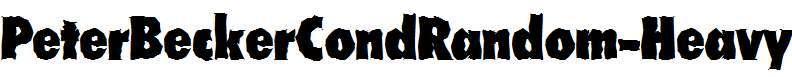 PeterBeckerCondRandom-Heavy-Regular