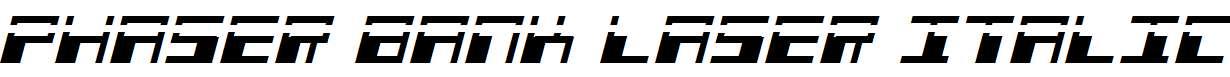 Phaser-Bank-Laser-Italic