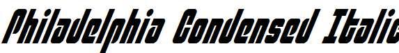Philadelphia-Condensed-Italic