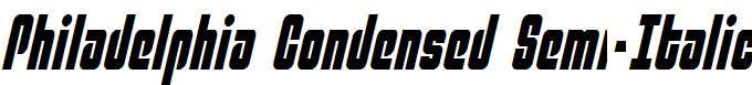 Philadelphia-Condensed-Semi-Italic