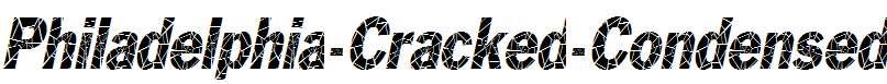 Philadelphia-Cracked-Condensed-Italic