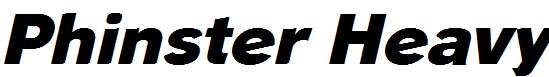 Phinster-Heavy-Italic