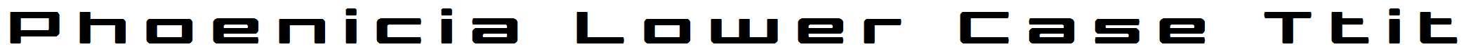 Phoenicia-Lower-Case-Ttitle