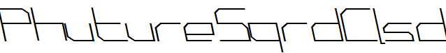 PhutureSqrdClsd-A-Italic
