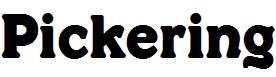 Pickering-Regular