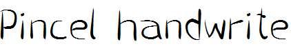 Pincel-handwrite
