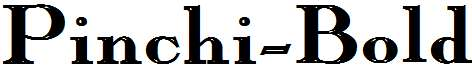 Pinchi-Bold