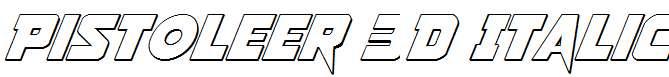 Pistoleer-3D-Italic