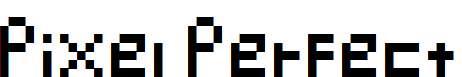 Pixel-Perfect-Regular