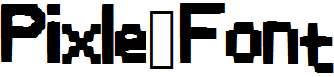 Pixle_Font