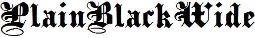 PlainBlackWide-Normal